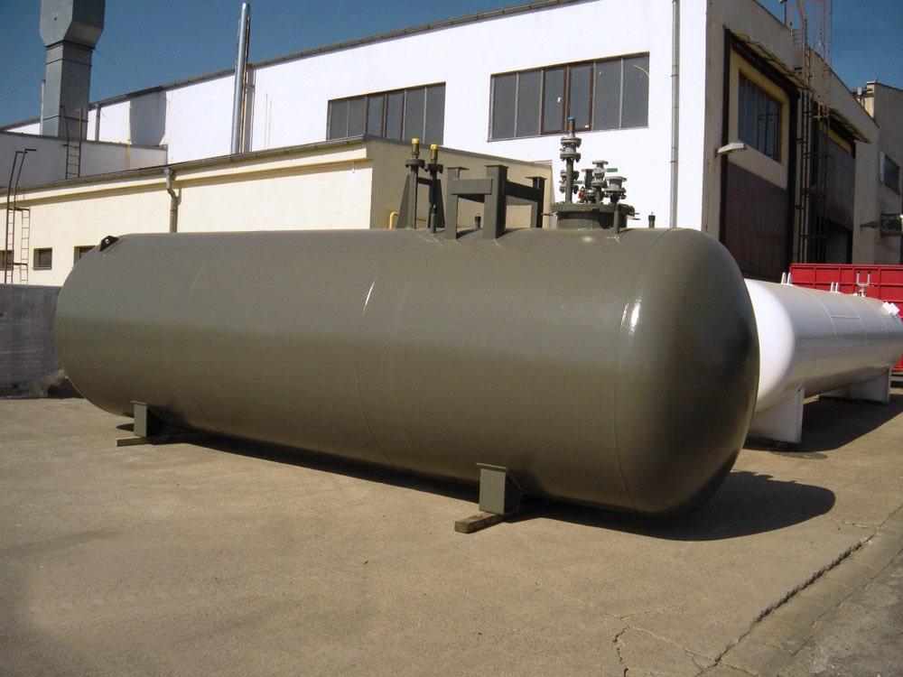 réservoir fixe cigare à enterrer gpl fuel