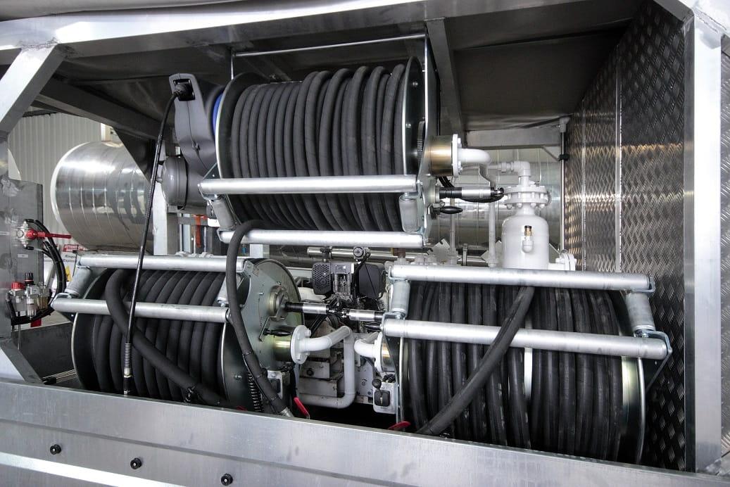 compresseur mobile moteur diesel flexibles