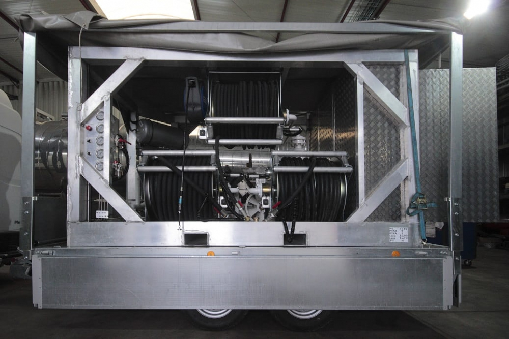 compresseur mobile moteur diesel flexible