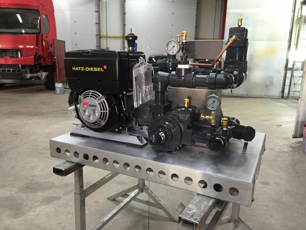 moteur diesel compresseur mobile fixe