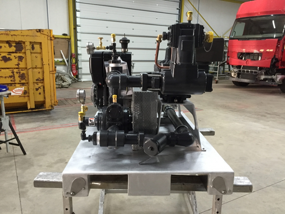 compresseur mobile moteur diesel