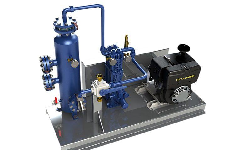 pompe compresseur gpl gaz moteur