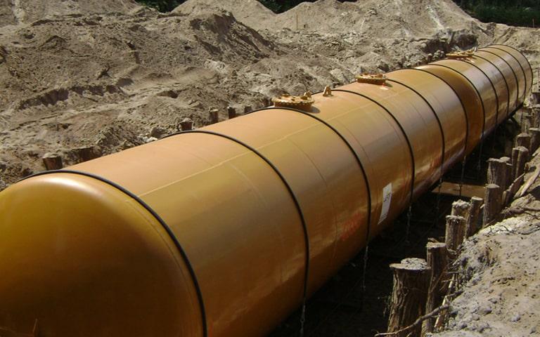 réservoir fixe enterré gpl gaz