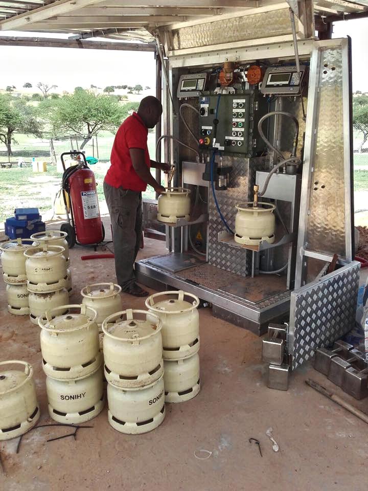 station de remplissage gpl bouteille gaz