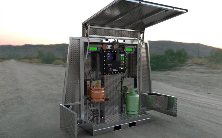 station de remplissage gpl gaz
