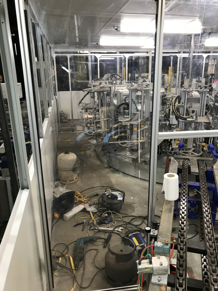 Carrousel d'épreuve hydraulique