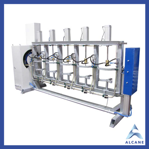 alcane bouteille de gaz fuel gpl Machine de test hydrostatique semi-automatique 1. Hydrostatic Semiautomatic Test Machines