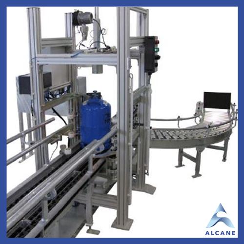 alcane bouteille de gaz fuel gpl Automatic leak tester Testeur d'étanchéité automatique