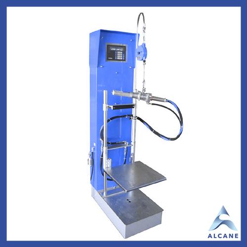 alcane bouteille de gaz fuel gpl Filing machine type WAEK Balance de remplissage électronique type WAEK