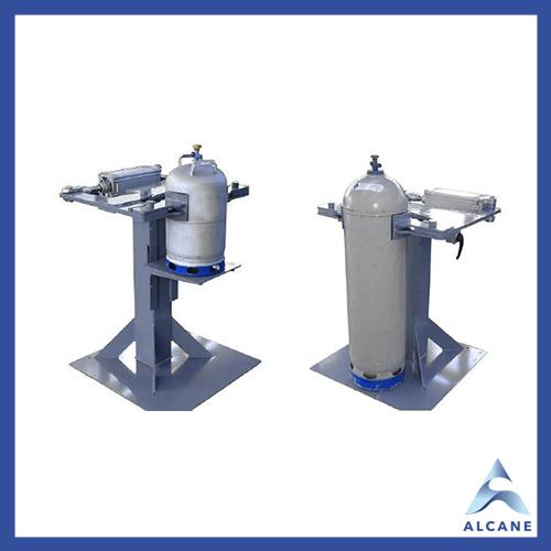 alcane bouteille de gaz fuel gpl Cylinder clamping units Unité de serrage de bouteilles