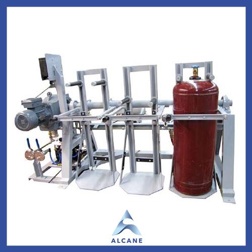 alcane bouteille de gaz fuel gpl Evacuation Unit Unité d'évacuation